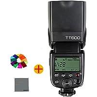 Fomito® Godox TT600 カメラフラッシュ 内蔵2.4GワイヤレスXシステム  ガイドナンバーGN60  1/8000s高速シンクロ   AD360II-C・AD360II-N・TT685C・TT685N・X1T-C・X1T-N等とコンパチブルできる ( Canon・Nikon・Pentax・Olympus DSLR カメラ対応)