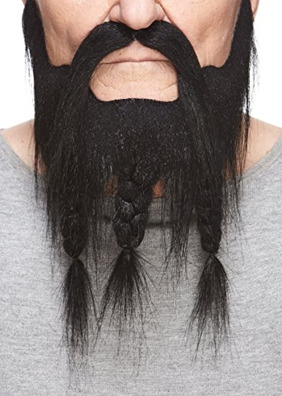 [マスタック]Mustaches Braided Captain black beard and moustache [並行輸入品]
