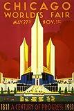 1933シカゴ世界博覧会ポスター24X36珍重PW0平行輸入