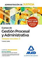Cuerpo de Gestión Procesal y Administrativa : turno libre, Administración de Justicia : temario