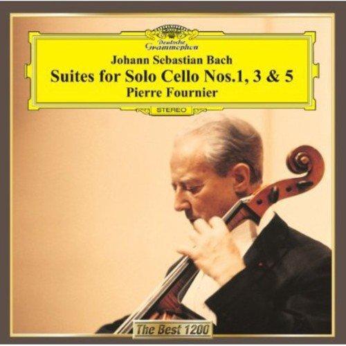 バッハ:無伴奏チェロ組曲第1番、第3番、第5番