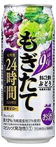 アサヒ もぎたて 新鮮ぶどう 缶 500ml×24本
