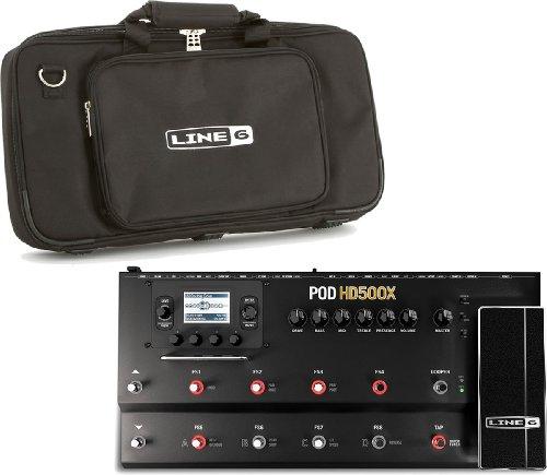 Line6 ライン6 POD アンプシミュレーター POD HD500X 純正ギグバッグ付き (国内正規品)
