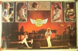 QINGAIWEI REO スピードワゴン ポスター REOSpeedwagon バンド ショット コラージュ コンサート ビンテージ