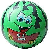 DYNWAVE おもちゃ ビーチボール スイカ 顔 素晴らしい 贈り物 グリーン