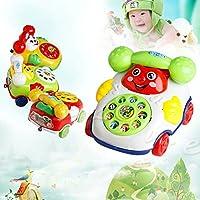 ベビーおもちゃ音楽漫画電話教育Developmental Kids Toyギフト新しい