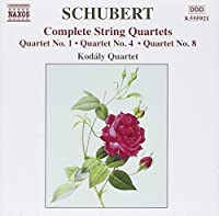 SCHUBERT: String Quartets (Complete), Vol. 4 (2002-08-02)