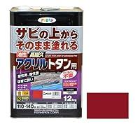 油性高耐久アクリルトタン用 12kg ニューレッド 【まとめ買い3缶セット】