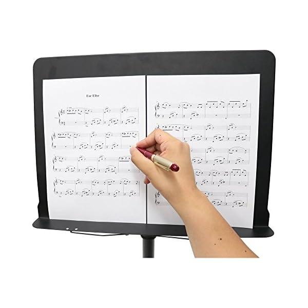 KC 譜面台 穴無し オーケストラタイプ M-...の紹介画像2