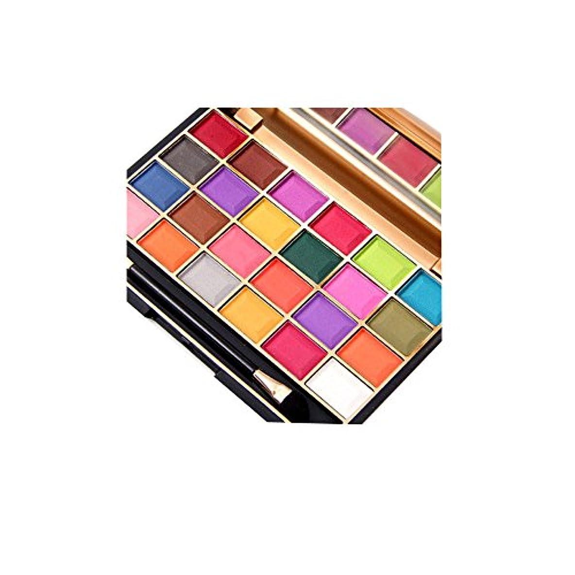 コロニー極めて重要なメロディーアイシャドウパレット YOKINO アイシャドウ 防水 アイビューティー 化粧板 高品質 自然 南美色 24色 (F)