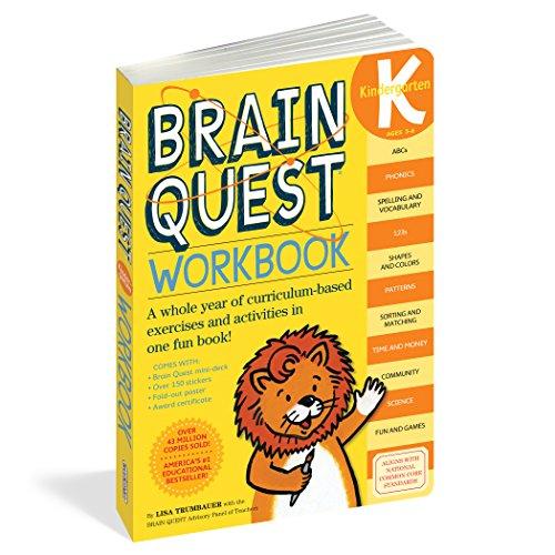 Brain Quest Workbook Kindergartenの詳細を見る