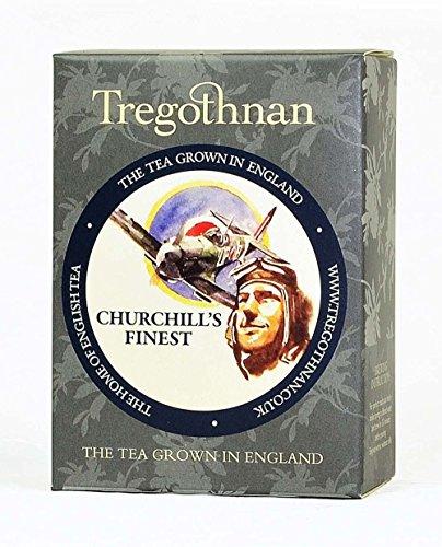英国産紅茶 Tregothnan (トレゴスナン) チャーチルズ・ファイネスト 紅茶 10ティーバッグ [並行輸入品]