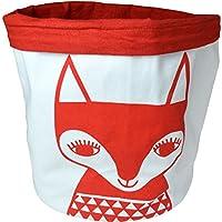 MAKE ジェーンフォスター 裁縫用 布製カゴ ラージ ニッティング バケット レッドフォックス 5713017RF