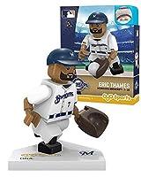 Oyo Sportstoys MLB ミルウォーキーブルワーズ スポーツファン ボブルヘッド おもちゃのフィギュア ネイビーブルー/タン ワンサイズ