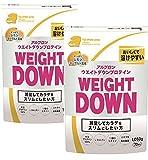 【2袋セット】アルプロン ウェイトダウン プロテイン レモンヨーグルト風味 1,050g×2