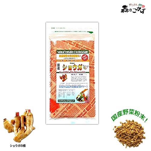 森のこかげ 国産 野菜 粉末 生姜 しょうが ショウガ (50g 内容量変更) 野菜パウダー R