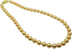 アコヤ本真珠ネックレス/8.5-9.0mm/ゴールド