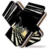 【KEIO】g08 手帳型 ケース カバー ねこ ネコ 猫 猫柄 イラスト g 08ケース g 08カバー ジー 手帳型ケース 手帳型カバー 人気 かわいい [クロネコ スター 黒猫 星/t0678]