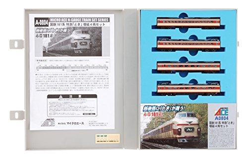 Nゲージ A0804 国鉄181系特急「とき」増結4両セット