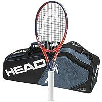 ヘッド2018Graphene RadicalタッチMP–品質文字列with 3ラケットテニスバッグ