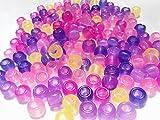 【ぴぴっと】 紫外線で色が変わる UVチェックビーズ 200個 遮光袋入り
