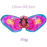 ブランドオリジナルボックスピンクFrog Kite – Chinese手作りシルクKites
