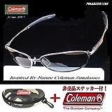 Coleman コールマン 偏光サングラス Co3008-1(コールマン専用ハードケース付)