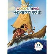 Disney: Moana Colouring Adventures