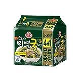[オットギ] 牛肉ワカメスープラーメン 4+1個入 / 韓国食品/韓国ラーメン (海外直送)