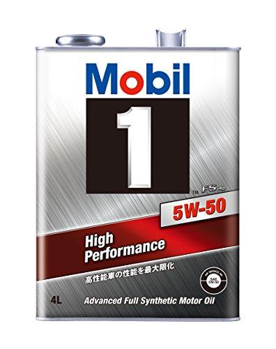 Mobil エンジンオイル モービル1 FS X2 5W-50 化学合成油 4輪ガソリン・ディーゼルエンジン車用 SN 4L 117443