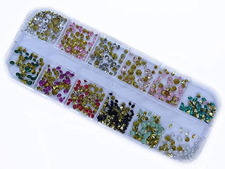私たち厳密に正確な【jewel】高品質 12色 Vカットストーン ミックス ラインストーン ダイヤモンドカット ジェルネイル デコ素材 … (Vカットストーン ミックス)