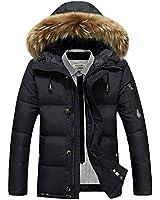 ansin select(アンシンセレクト) 冬 スリム 防寒 中綿 ダウン ジャケット コート ファー フード ジップアップ カジュアル ストリート ブルゾン アウター 防風 保暖 アメカジ メンズ