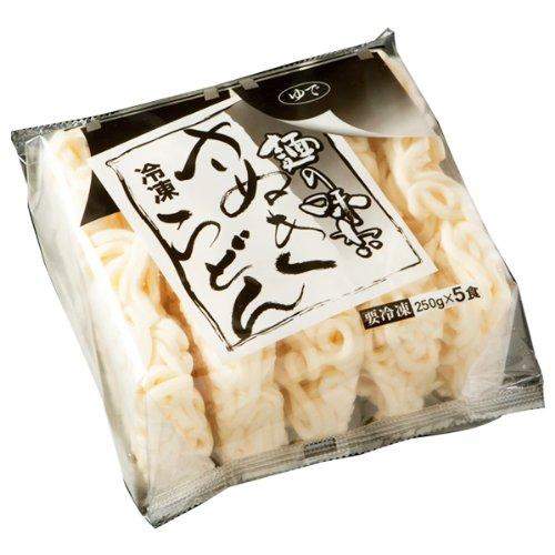 四国日清 「麺の味わい」冷凍さぬきうどん 250g 5玉 四国日清