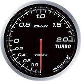 日本精機 Defi (デフィ) メーター【Defi-Link ADVANCE BF】ターボ計 200kpa (ホワイト) DF09901