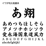 イワタ特太楷書体 TrueType Font for Windows [ダウンロード]