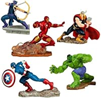 Disney Marvel Avengers Assemble 5-Piece Exclusive PVC Figure Set [並行輸入品]