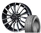 [195/50R16]BRIDGESTONE / BLIZZAK VRX スタッドレス [2/-][Weds / LEONIS VT (PBMC) 16インチ] スタッドレス&ホイール4本セット ヴィッツ(130/90系 16インチ車)、ロードスター(ND系)