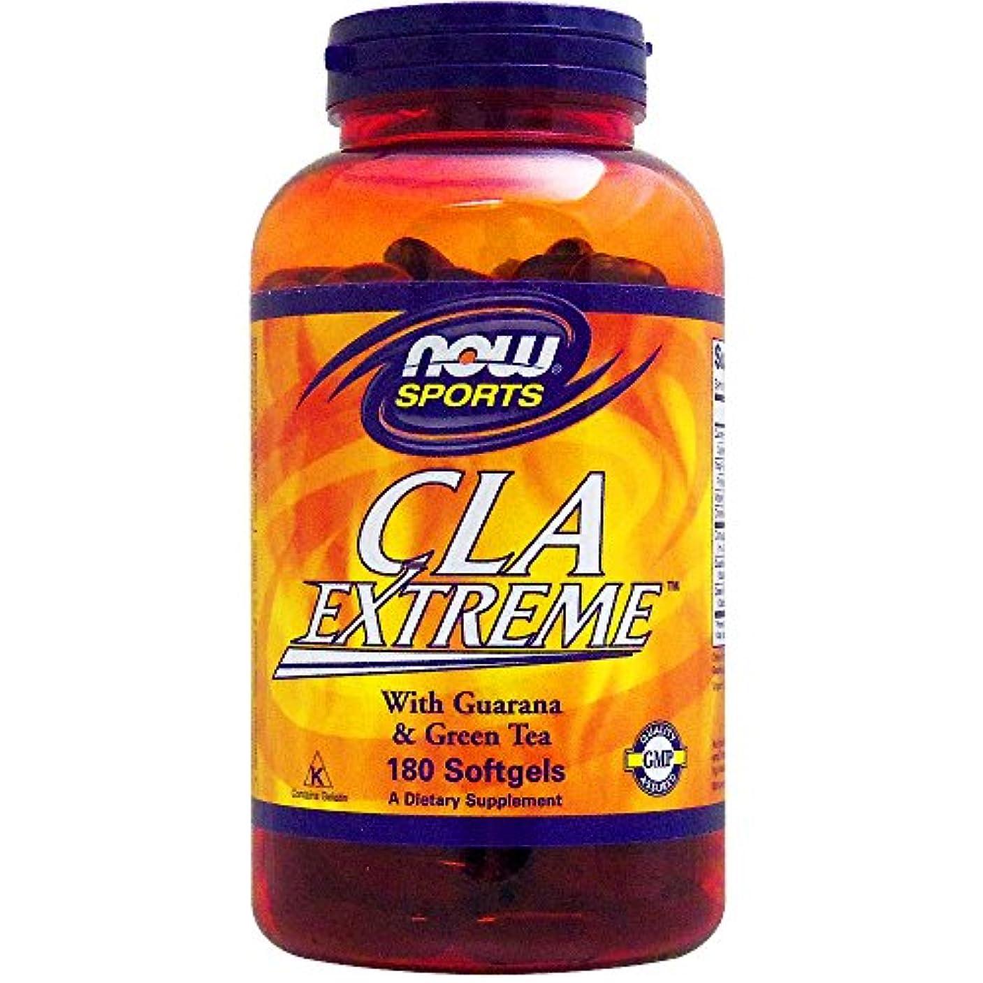 お世話になった制限する天の[海外直送品] ナウフーズ CLA エクストリーム(スーパー共役リノール酸) 180粒
