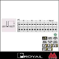 e-kanamono ロイヤル 棚柱 アルミペッカーサポート14(シングル) APS-14 1820mm ホワイト