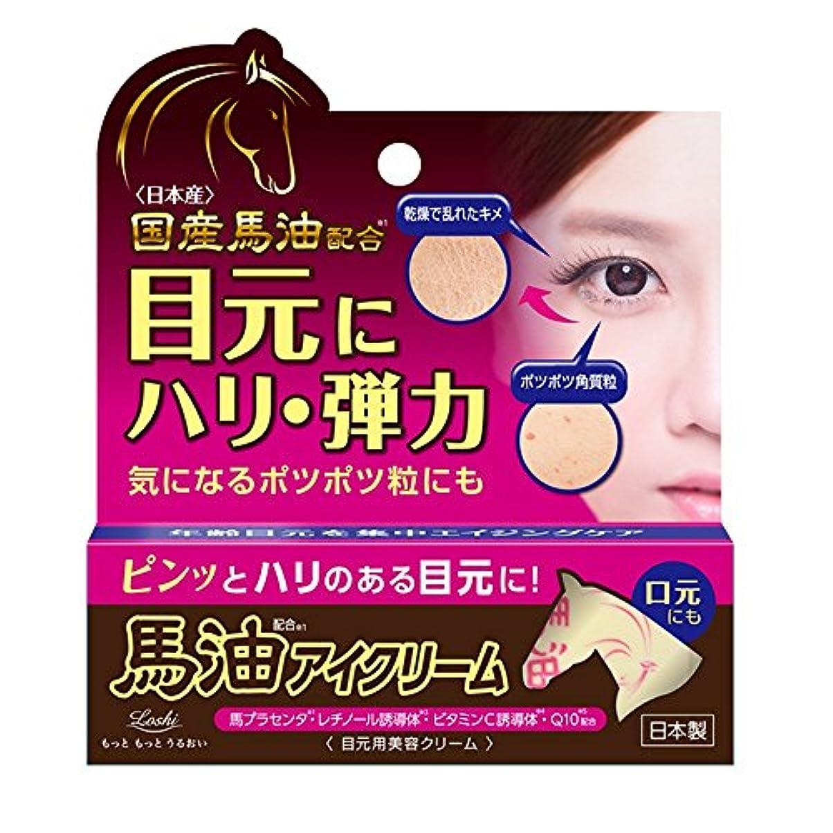 紫のリーン大西洋ロッシモイスト馬油 エイド アイクリーム 20g (目元 エイジングケア)