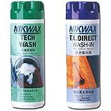 NIKWAX(ニクワックス) NIKWAX ウェア用洗剤 テックウォッシュ EBE181 & TX ダイレクトウォッシュイン EBE251 セット