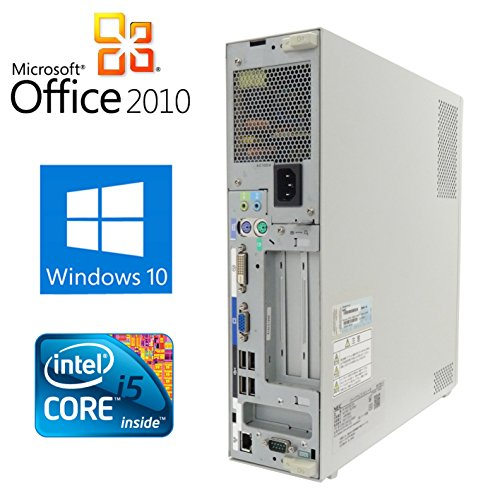 【Microsoft Office2010搭載】【Win 10搭載】NEC Mシリーズ/新世代Core i5 2.5GHz以上/メモリ4GB/HDD160GB/DVDドライブ/中古デスクトップパソコン (パソコン本体のみ)