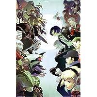 Shin Megami Tensei Persona 34日本RPGニースシルク生地壁ポスター印刷 36 inch x 24 inch