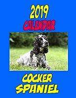 2019 Calendar Cocker Spaniel: Dog Calendar, Password Log, Notes, to Do List and More