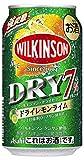 【2019年発売】ウィルキンソン・ドライセブン ドライレモンライム 缶 [ チューハイ 350ml×24本 ]