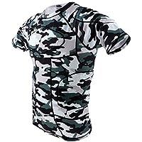 Perfk ランニングウェア 上下 セット Tシャツ ジャージ ハーフパンツ メンズ 全4サイズ