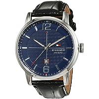 Tommy Hilfiger Men 1791216 Year-Round Analog Quartz Black Watch