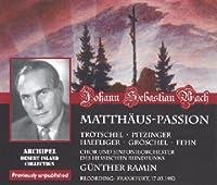 Bach: Matthaus Passion