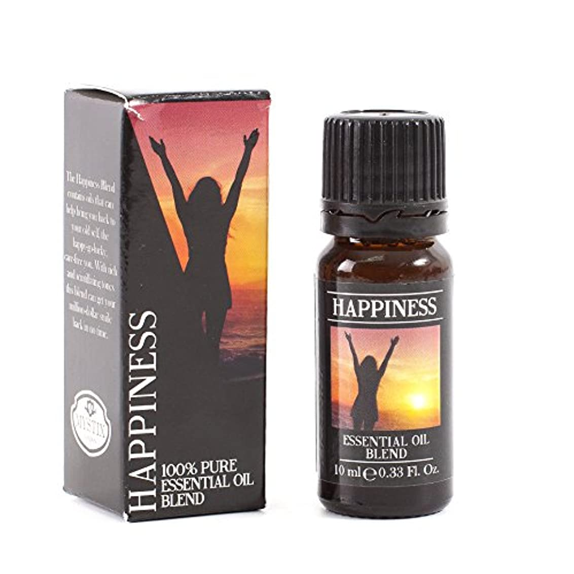 保持量で生むMystix London | Happiness Essential Oil Blend - 10ml - 100% Pure