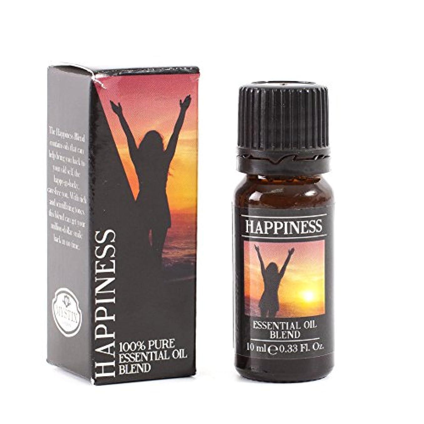 Mystix London   Happiness Essential Oil Blend - 10ml - 100% Pure